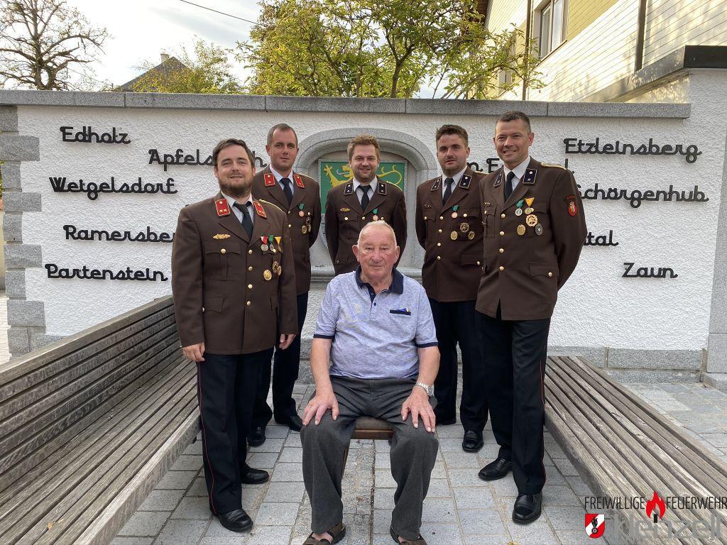 E-AW Josef Panholzer feiert den 89. Geburtstag